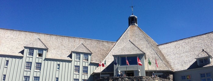 Timberline Lodge is one of Historic Hotels to Visit.