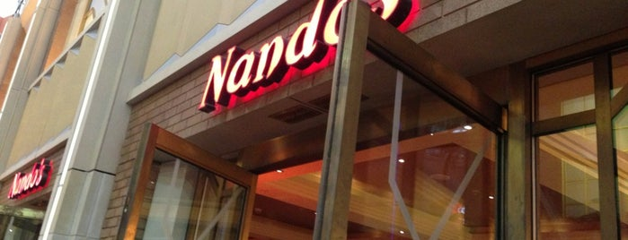 Nando's is one of O2.