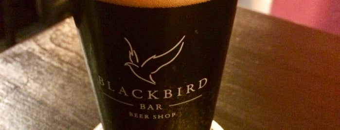 Blackbird Bar is one of Крафт СПб.