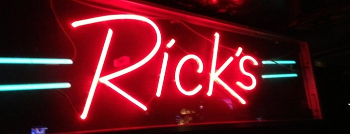 Rick's American Cafe is one of Ann Arbor Favs.