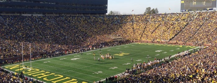 Michigan Stadium is one of Places.