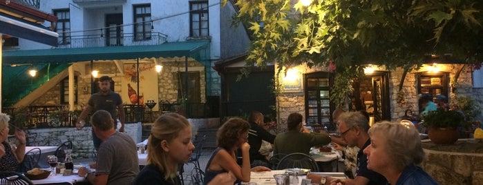 Η Πλατεία της Ανθούλας is one of Off to Chalkidiki ♥ (drinks 'n' food).