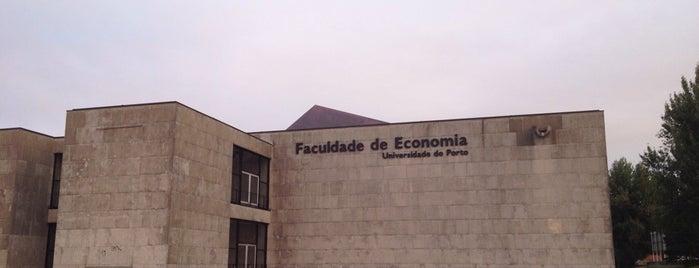 Faculdade de Economia da Universidade do Porto is one of Tania.