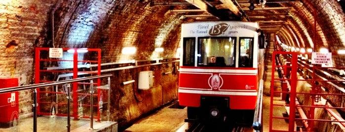 Tünel is one of İstanbulda gezeceğim 100 şey.