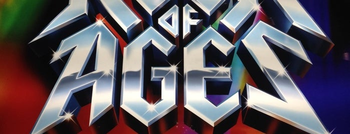 Rock Of Ages at The Venetian is one of Vegas.