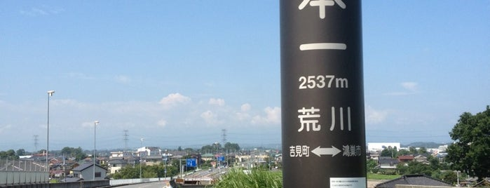 川幅日本一の碑 is one of lieu a Tokyo 3.