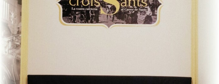 CroisSants is one of Sants.