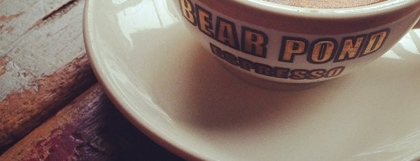 Bear Pond Espresso is one of Coffee Snob Approved.