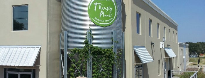 The Thirsty Planet Brewery is one of Texas Craft Breweries.