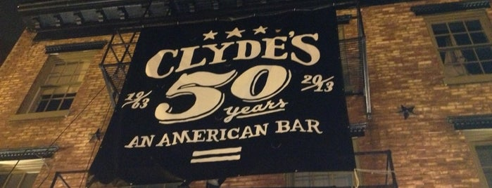 Clyde's of Georgetown is one of Restaurants Part 2.