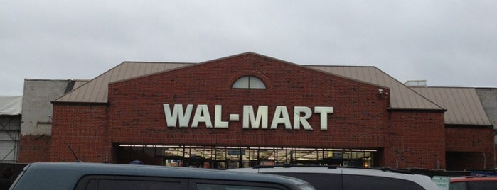 Walmart Supercenter is one of Pinpointed locations.