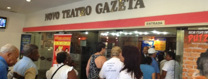 Teatro Gazeta is one of to go / go back.