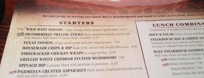LongHorn Steakhouse is one of nom nom nom.