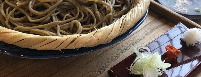 手打そば 車家 is one of 飯屋.