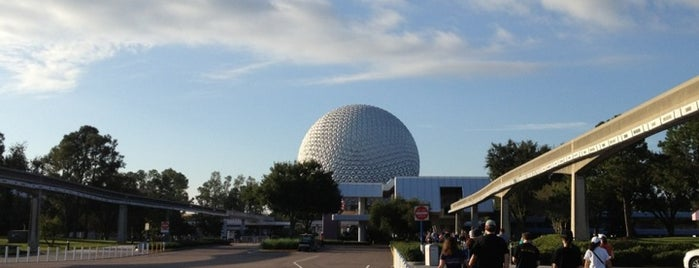 Epcot Parking Lot is one of Florida Trip '12.