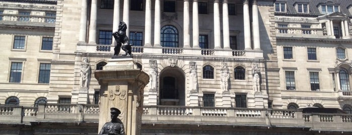 Bank of England is one of Around The World: London.