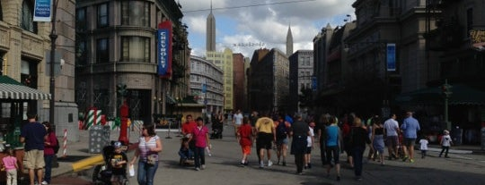 New York City, Streets of America is one of Disney World!.