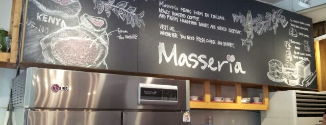 Masseria is one of Cafes in Seoul.