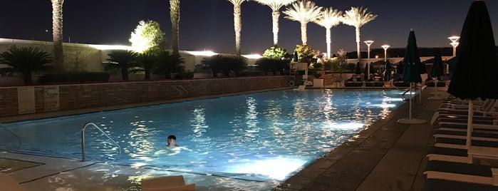 Pool at Trump International Las Vegas is one of The 15 Best Hotel Pools in Las Vegas.