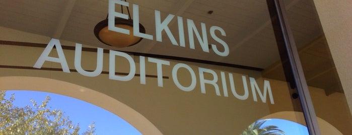 Elkins Auditorium is one of Grand Tour.