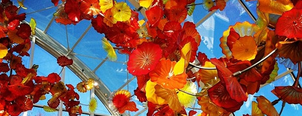 Chihuly Garden and Glass is one of Seattle.