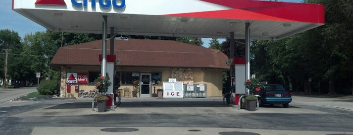Citgo - De Pere Y Mart is one of most time spent.