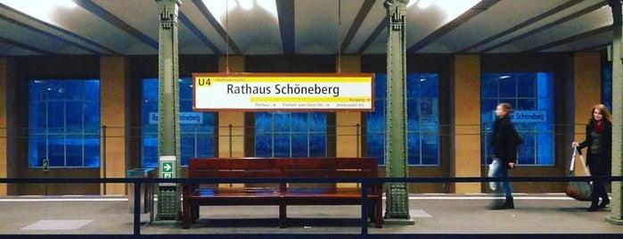 U Rathaus Schöneberg is one of U-Bahn Berlin.