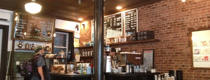 Lenox Coffee is one of Manhattan's Best Coffee by Subway Stop.