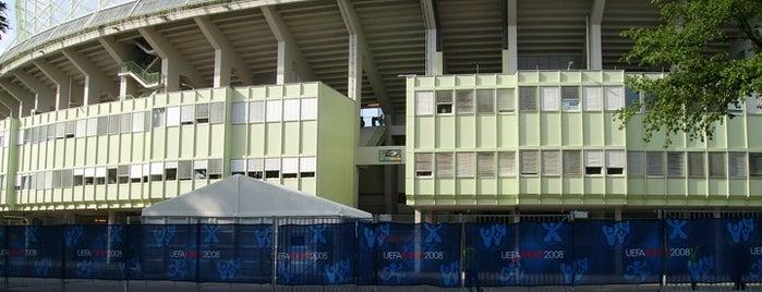 Ernst-Happel-Stadion is one of StorefrontSticker #4sqCities: Vienna.