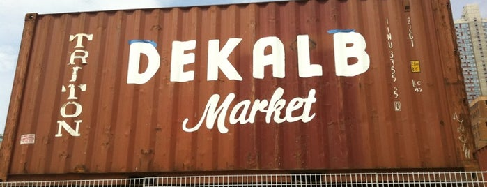 Dekalb Market is one of Brooklyn To-Do List.