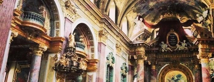 Jesuitenkirche is one of 04 Vienna.