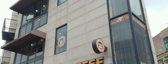 Seven Monkeys Coffee is one of ?8.