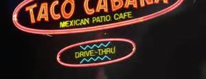 Taco Cabana is one of To Do Restaurants.