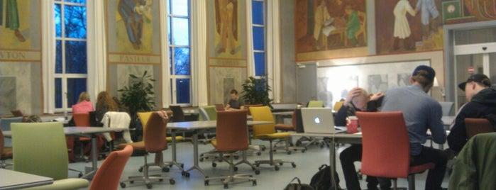 Det Natur- og Sundhedsvidenskabelige Fakultetsbibliotek is one of Biblioteker København.