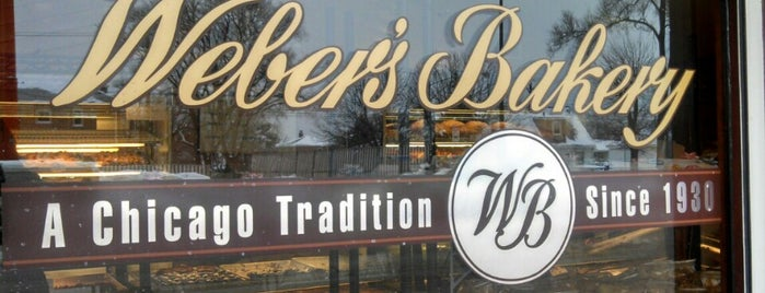 Weber's Bakery is one of The 15 Best Places for a Cake in Chicago.