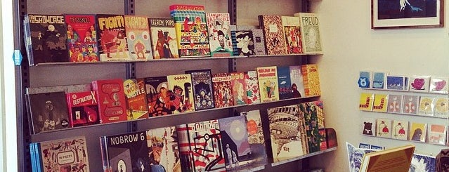 Nobrow is one of Best Comics Bookshops.