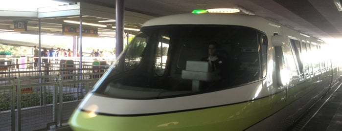 Monorail Lime is one of Disney world.