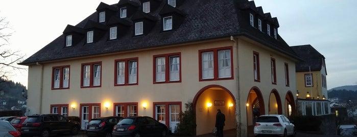 Schloss-Hotel Kurfürstliches Amtshaus Dauner Burg is one of Urlaubskandidaten.