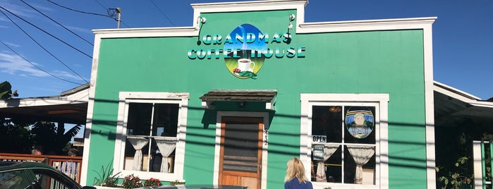 Grandma's Coffee House is one of Maui.