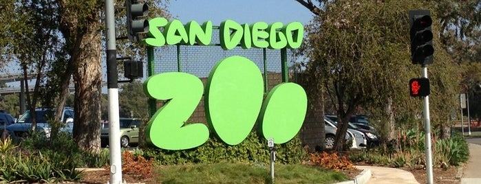 San Diego Zoo is one of I've been here.