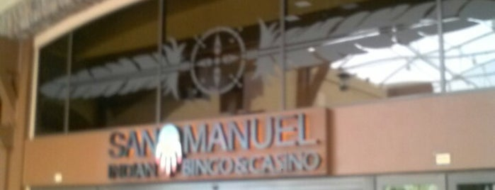 San Manuel Casino is one of My Most Visited Places!.