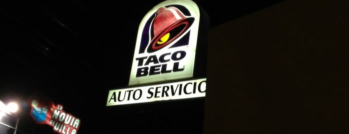 Taco Bell is one of 20 favorite restaurants.