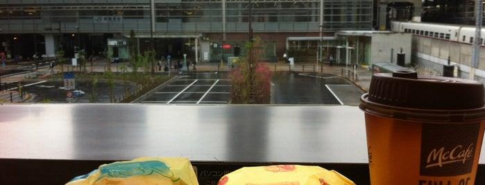 McDonald's is one of よくいく場所.