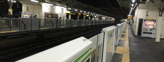 Uguisudani Station is one of 山手線.
