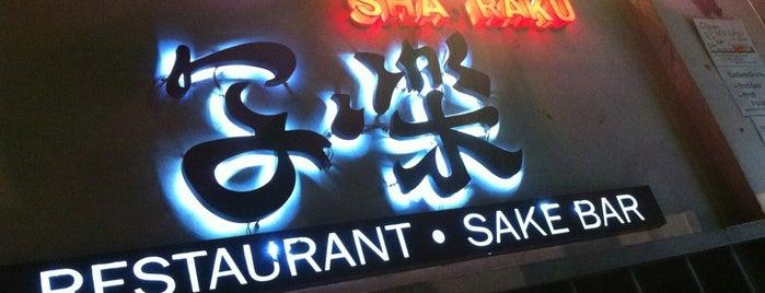 Sha Raku 写楽 is one of Bangkok.
