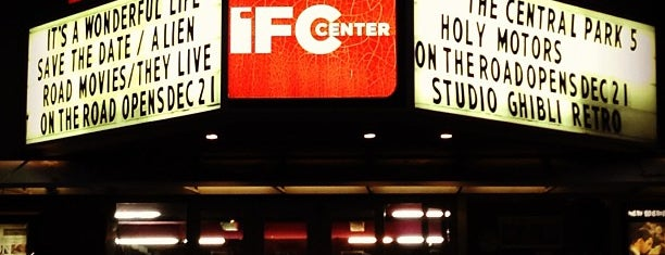 IFC Center is one of Greenwich Village / West Village.