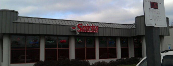 Spirits Unlimited is one of Six Pack Hot Spots.