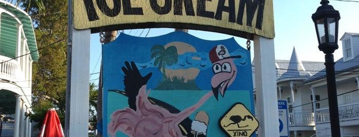 Flamingo Crossing Ice Cream is one of USA Key West.
