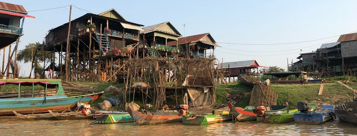 Kampong Phluk (Floating village) is one of Cambodia.
