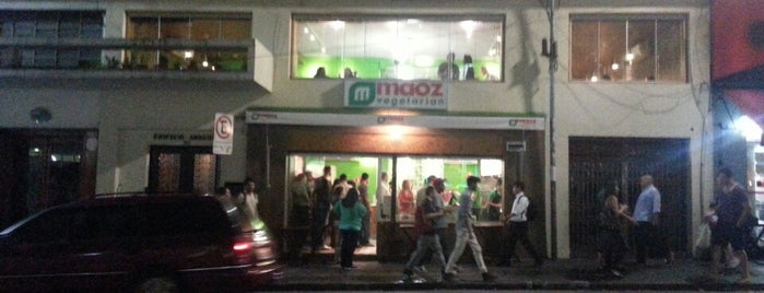 Maoz Vegetarian is one of VeganSP.